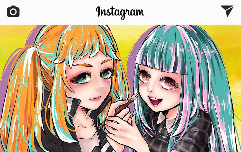 Instagramでイラスト投稿するだけでいいねで溢れファンを100人作る
